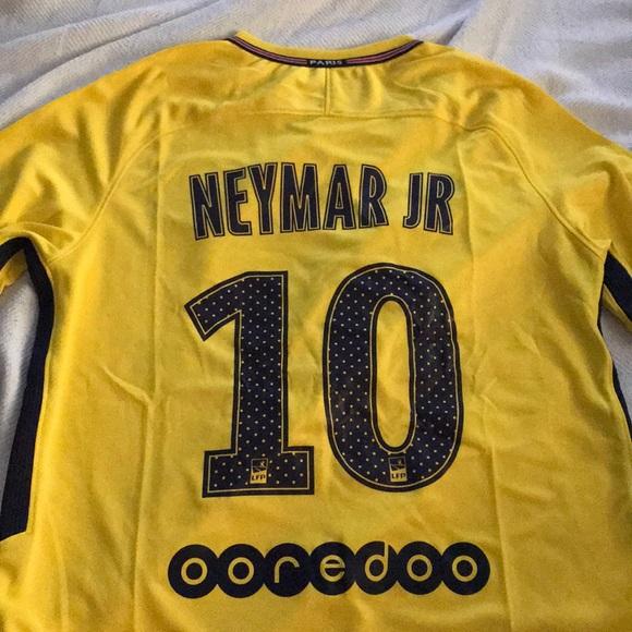 41651eadb Paris Saint Germain PSG NEYMAR JR 10 Soccer Jersey